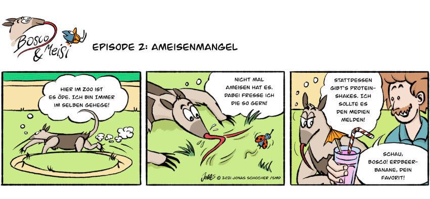 Bosco und Meisi Comic 2