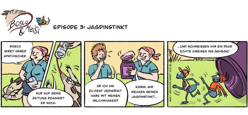 Bosco und Meisi Comic 3