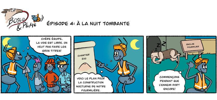 Bosco et Plume bande dessinée 4