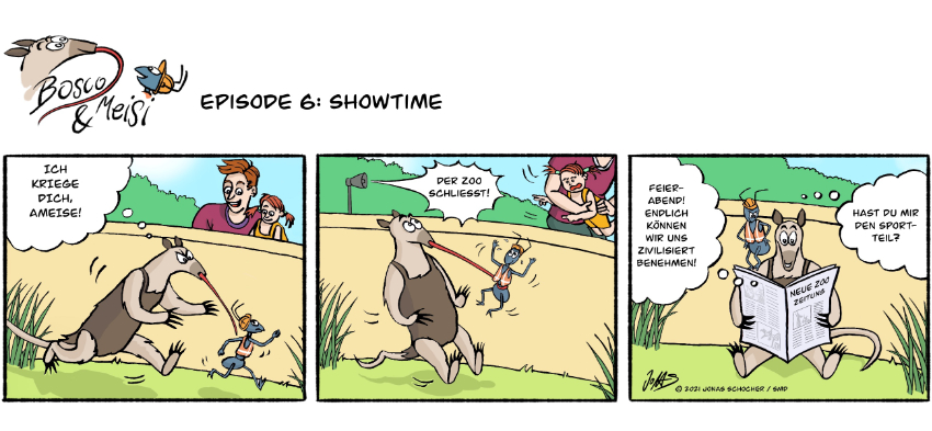 Bosco und Meisi Comic 5