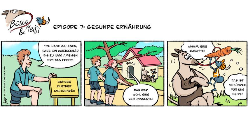 Bosco und Meisi Comic 7