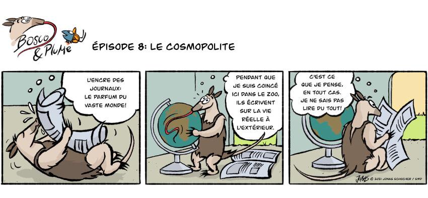 Bosco et Plume bande dessinée 8