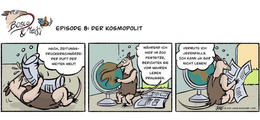 Bosco und Meisi Comic 8